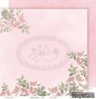 Лист бумаги Galeria Papieru - Usłane różami - Устлано розами, код 06, 30,5 x 30,5 см