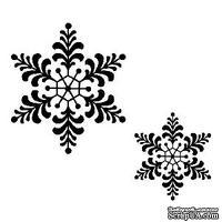 Резиновый ШТАМП Sue Wilson -Feathery Snowflake