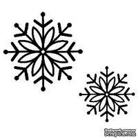 Резиновый ШТАМП Sue Wilson -Bold Snowflake
