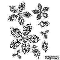 Резиновый ШТАМП Sue Wilson -Elegant Poinsettias