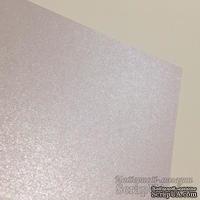 Картон Weight белый с лиловым оттенком, перламутровый, 18,5х30, 250гр/м.кв