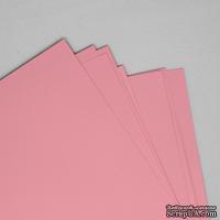 Двусторонний лист бумаги, цвет розовый, размер А4, 120гр/м.кв
