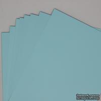 Двусторонний лист бумаги, цвет светло-голубой, размер А4, код 13101-12015, 120гр/м.кв