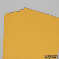 Двусторонний лист бумаги, цвет желтый, размер А4, 120гр/м.кв