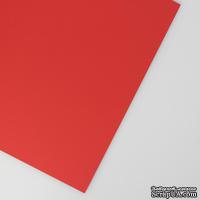 Картон Cover Board Classic, 30x30см, плотность 270, красный - ScrapUA.com