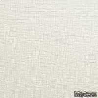Бумага цвета слоновой кости с фактурой льна Chamois, 30х30 см, 80 г/м кв