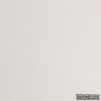 Картон белый Ultrawhite Ivory Board,30x30см, 280гр/м2, с фактурой льна