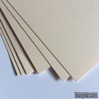 Двухсторонний лист картона, размер: 20х30 см, цвет: бледно-розовый, плотность 300 г, 1 шт.