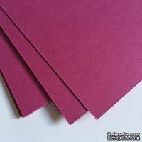 Двухсторонний лист картона, размер: 20х30 см, цвет: насыщеный розовый, плотность 300 г, 1 шт.