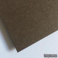 Двухсторонний лист картона, размер: 20х30 см, цвет: коричневый темный, плотность 300 г, 1 шт.