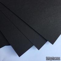 Картон от URSUS, размер 20 х 30 см, цвет черный 1 шт.