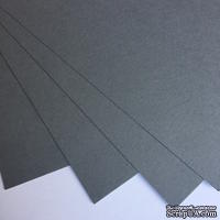 Картон от URSUS, размер 20 х 30 см, цвет серый, 1 шт.