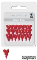 """Набор классических брадсов от URSUS """"Сердце 2"""", цвет красный, 26 шт."""