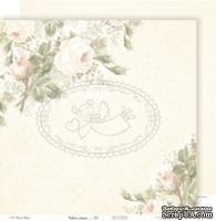 Лист бумаги Galeria Papieru - Usłane różami - Устлано розами, код 01, 30,5 x 30,5 см