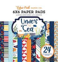 Набор бумаги от Echo Park - Under the Sea, 15х15 см, 24 листа