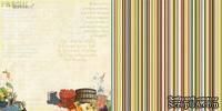 Лист скрапбумаги Webster's Pages - Fresh Harvest - Spring Market Collection - размер 30х30 см, двусторонний
