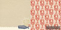 Лист скрапбумаги Webster's Pages - Whale Watching - Yacht Club Collection - размер 30х30 см, двусторонний - ScrapUA.com