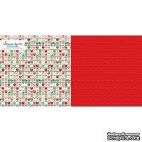 Лист скрапбумаги Webster's Pages Christmas Spirit, 30х30 см, двусторонняя