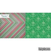 Лист скрапбумаги Webster's Pages Wintergreen, 30х30 см, двусторонняя