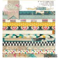Набор бумаги от Glitz Design - Uncharted Waters - 15х15 см
