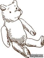 Акриловый штамп Stamp Teddy Bear, размер 3,8 * 3 см