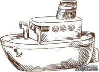 Акриловый штамп Stamp Nautilus, размер 4,7 * 3,4  см - ScrapUA.com