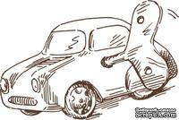 Акриловый штамп Stamp Toy Car Машинка, размер 5,2 * 3,5  см
