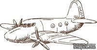 Акриловый штамп Stamp Toy Plane, размер 4,2 * 2,2  см