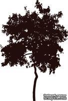 Акриловый штамп Urban-Tree Дерево, размер 4,2 * 6,2 см