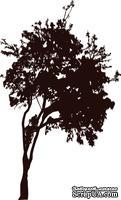 Акриловый штамп Urban-Tree Дерево, размер 3,7 * 6,2 см