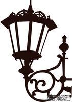 Акриловый штамп Lviv Lantern Фонарь, размер 3,4 * 4,7 см - ScrapUA.com