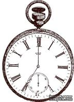 Акриловый штамп Stamp Vintage Watches Часы, размер 5.2 * 7.3