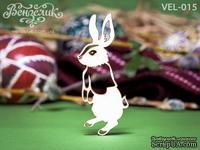 Чипборд от Вензелик - Кролик 02, размер: 26x61  мм