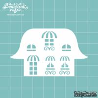 Чипборд от Вензелик - Дом 06, размер: 43x71 мм