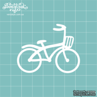 Чипборд от Вензелик - Велосипед, размер: 58x45 мм