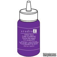 Клеевой глиттер Studio G, цвет Фиолетовый