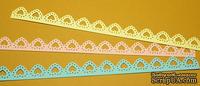 Высечки от Gallery Tools - Маленький бордюр Сердечки, 3 шт. , длина 18 см, три цвета;