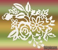 Высечки от Gallery Tools - Свадебный букет, размер: 7,6х9,7 см, цвет: белый;