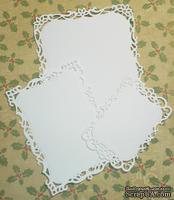 Высечки от Gallery Tools - Прямоугольник с плетением, 3 детали