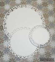 Высечки от Gallery Tools - Куг с плетением, 3 детали