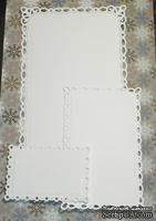 Высечки от Gallery Tools - Романтический прямоугольник, 3 детали