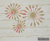 Высечки от Gallery Tools - Лепестки для пестрых цветов, 6 деталей