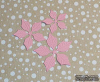 Высечки от Gallery Tools - Лепестки для розовой пуансетии, 6 деталей.