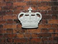 Пластиковое украшение от Е.В.А. - Корона, 2.7х3.1 см