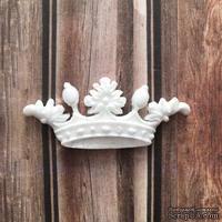 Пластиковое украшение Корона от Е.В.A, 6х2,5см