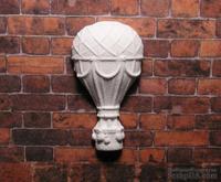 Гипсовое украшение от Е.В.A - Воздушный шар, 3,8х2 см