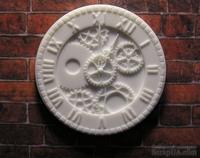 Пластиковое украшение от Е.В.A - Часы, 3,5 см