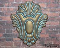 Гипсовый декор под окисленный метал от Е.В.А,  6х5 см