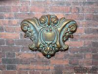Гипсовый декор под окисленный метал от Е.В.А,  5х4 см