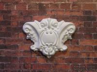 Гипсовый декор белый от Е.В.А,  5х4 см